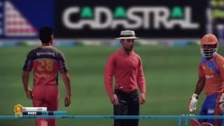 VIVO IPL 2017 | Royal Challengers Bangalore vs Gujarat Lions | Don Bradman Cricket | Gameplay
