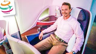 Qatar Airways Business Class 787-8 | GlobalTraveler.TV