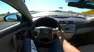 2010 Toyota Camry 2.4L (167) POV Test Drive