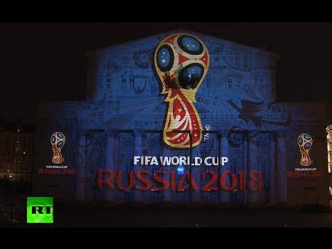 FULL HD: Alucinante presentación del emblema del Mundial 2018 en Rusia