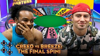 TYLER BREEZE vs. AUSTIN CREED: Wheel of Fortune: The Final Spin! (feat. Konnor) - UUDD Plays