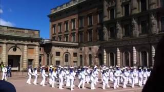 Game Of Thrones Theme At The Changing Of The Guard Royal Palace Stockholm
