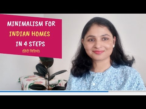 Minimalism in Indian Homes|4 Simple steps of Minimalism| Minimalism for Beginners