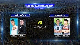 C1T3 - 2vs2 Assy | Chim Sẻ Đi Nắng, Gunny vs BiBi, Sơ Luyến | Ngày 25/06/2019