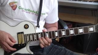 Waynes World Guitar Intro (Theme) - Guitar Tutorial (PARTY ON WAYNE, PARTY ON GARTH!)