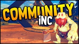 GIANT BEARDED VIKING FROGS & TREE ENTS! Getting Started The Basics - Community Inc Gameplay Tutorial