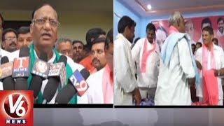TRS MP Gutta Sukhender Reddy Election Campaign In Damaracherla, Opposition Leaders Joins TRS