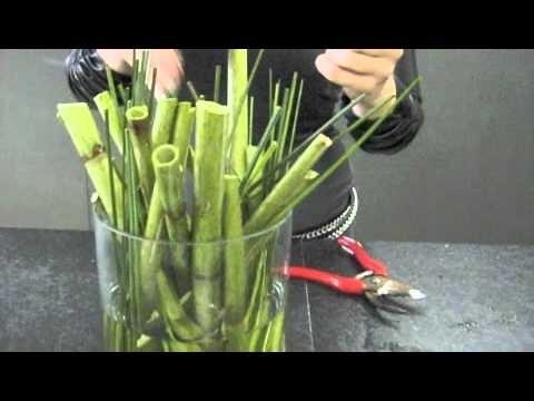 Sterke vaas decoratie youtube for Decoratie in vaas