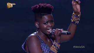 Top 8  Ndoni – 'Inyanga' – Idols SA   S16   Live Shows   Mzansi Magic