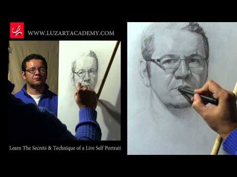 How to Draw a Self Portrait