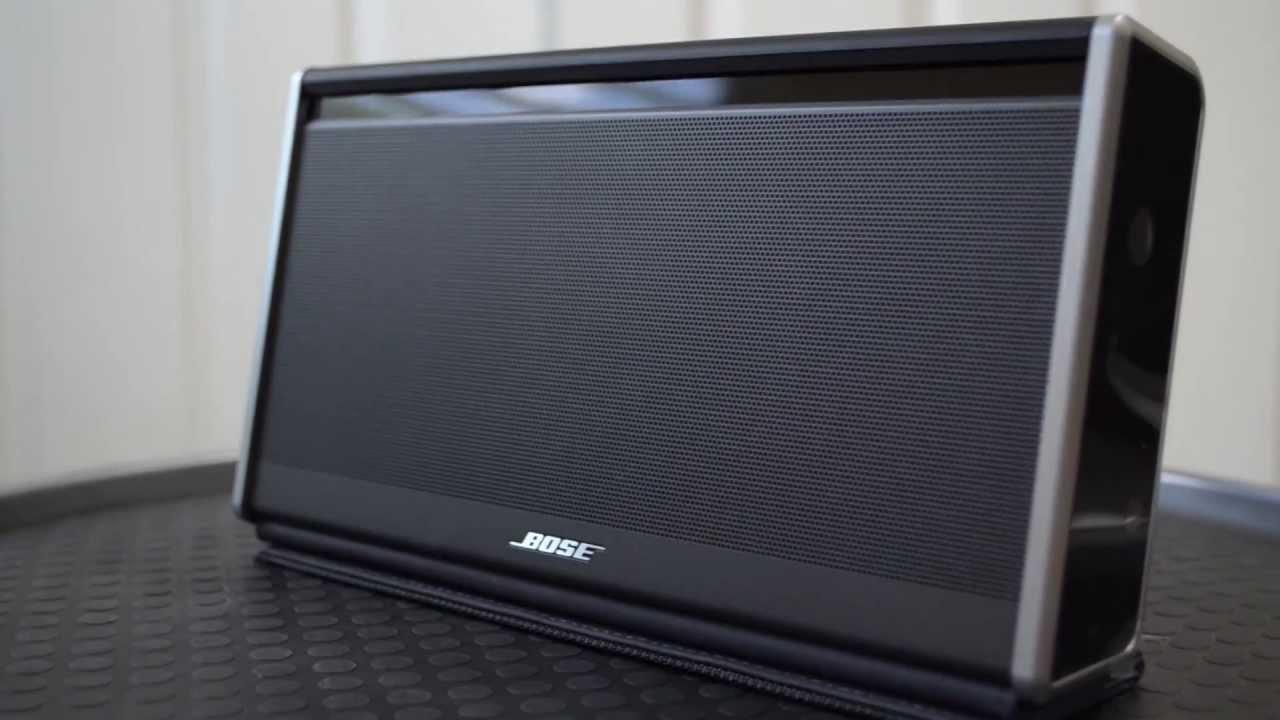 bose soundlink speaker ii reviewed youtube. Black Bedroom Furniture Sets. Home Design Ideas