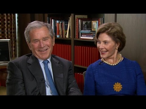 George W. Bush on his new book