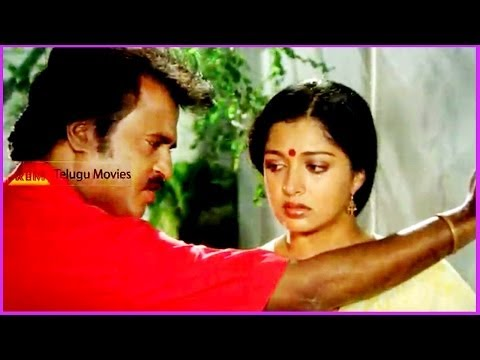 Rajinikanth & Gowthami Conversation - In Raja Chinna Roja Telugu Movie video