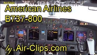 American Airlines Boeing 737-800 incl. Cockpit & Business Class by [AirClips full flight series]