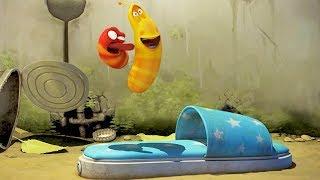 LARVA - SLIPPERS | Cartoon Movie | Cartoons For Children | Larva Cartoon | LARVA Official