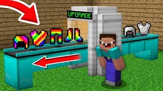 NOOB vs PRO Minecraft: NOOB UPGRADED HIS STEEL ARMOR IN SUPER RAINBOW ARMOR! 99% trolling