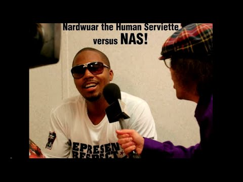Nardwuar vs. Nas - The Extended Version