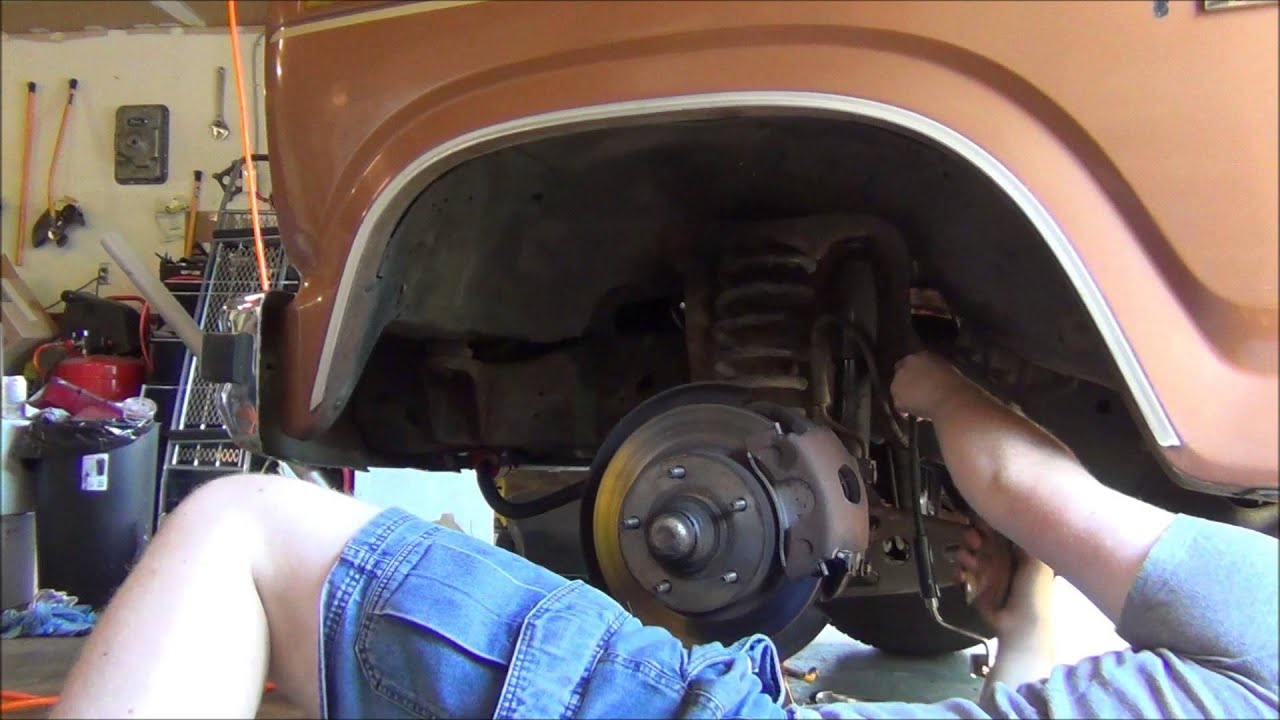 Replace Brake Hoses Ford F150 - YouTube