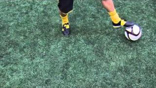 Falcao skill tutorial | How to do the Falcao dribble