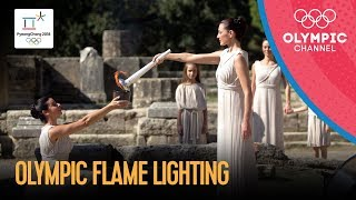 🔥 Olympic Flame Lighting Ceremony for PyeongChang 2018