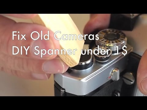 Fix Old Cameras: DIY Spanner Wrench for Classic Cameras