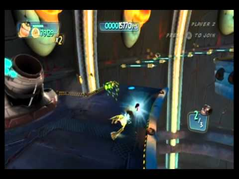 Monsters vs. Aliens Movie Game Walkthrough Part 12 (Wii)