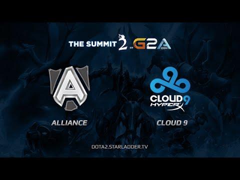 Alliance vs Cloud9 TheSummit2
