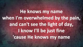 He Knows My Name - The McRaes (with lyrics)