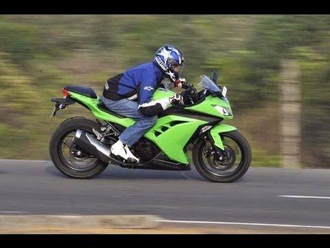 Kawasaki Ninja 300 video review by Autocar India