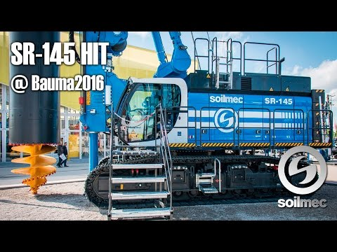 SR-145 HIT at bauma 2016