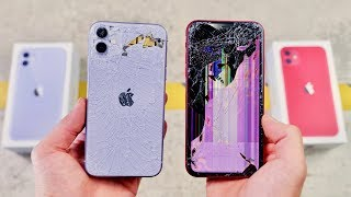 iPhone 11 vs XR DROP & BEND Test! Thinner Toughest Glass