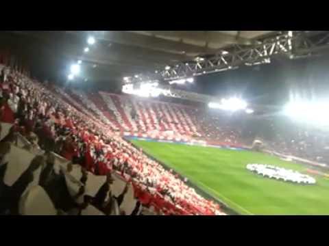 Olympiakos - Manchester United (2-0) COREO (25/2/2014)