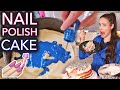 We Baked A Cake With Nail Polish (again)