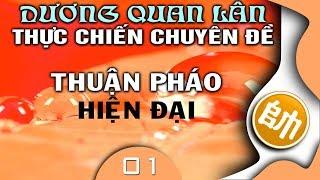 Cờ Tướng Giải Trí khai cuộc thực chiến hay Dương Quan Lân chuyên đề Thuận Pháo - 01