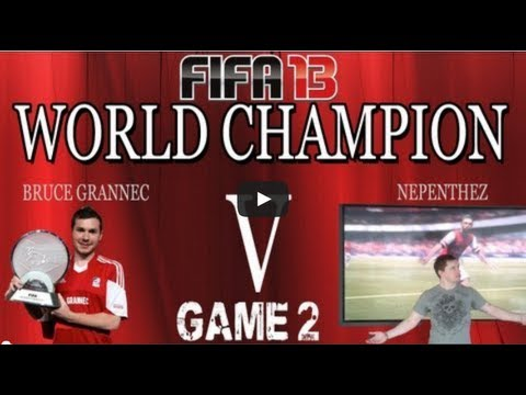 FIFA 13 Ultimate Team - NepentheZ v FIFA WORLD CHAMPION BRUCE GRANNEC - GAME 2