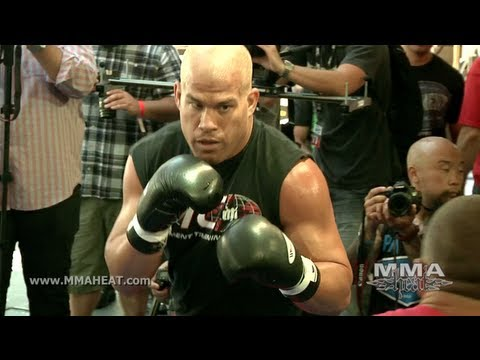 UFC 148: Hall Of Famer Tito Ortiz's Last Open Workout (Complete and Unedited) Image 1