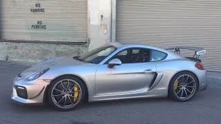 415 HP Porsche Cayman GT4 by Sharkwerks - One Take