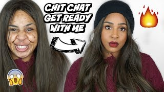 CHIT CHAT MAKEUP : POIDS,  HYPOCRISIE, YOUTUBE, AMIES ... 💁🏽‍♀️👀