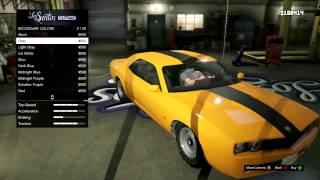 GTA 5 Gameplay Adventure - Bravado Gauntlet Car Customization - Camaro/Challenger