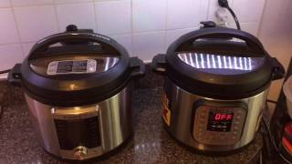 Instant Pot Ultra vs Instant Pot Duo