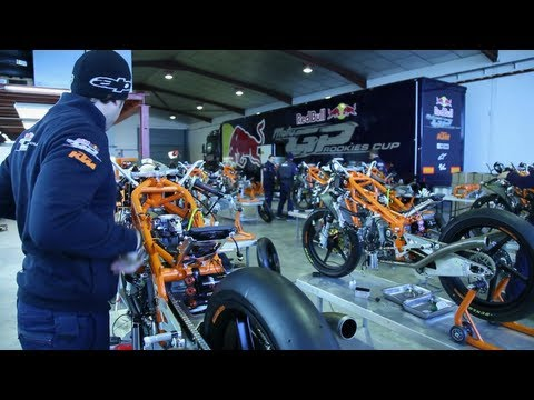 New Bike Features - Red Bull MotoGP Rookies Cup 2013