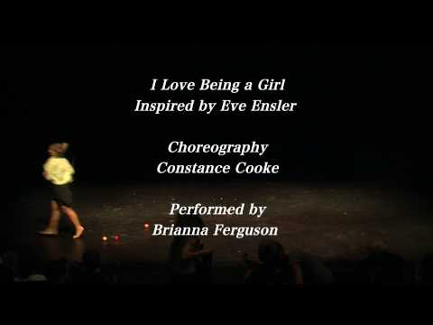 I Love Being a Girl. Victoria School of Contemporary Dance in Concert 2010. Video