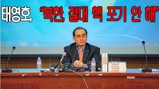 """태영호, """"독재의 뇌수 3층 서기실의 정체를 폭로한다."""""""
