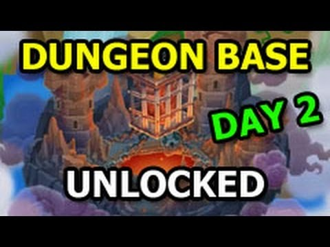 DUNGEON ISLAND Into The Dark Quest Completed Dungeon BASE Unlocked DAY 2