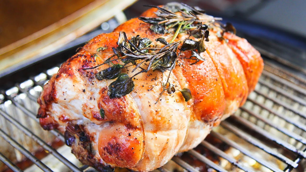 cooking rolled stuffed turkey breast