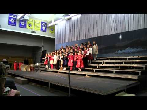 The Chipmunk Song, Clairbourn School 1st Grade Xmas