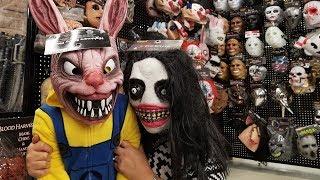 Spirit Halloween 2018 Masks with Jai Bista Show