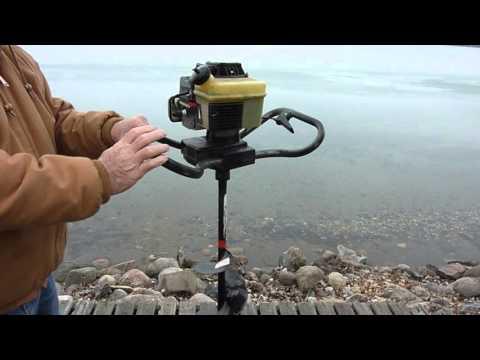 Strikemaster mag 2000 gas ice auger 043