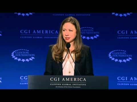 Chelsea Clinton Announces Job One Commitments – CGI America 2015