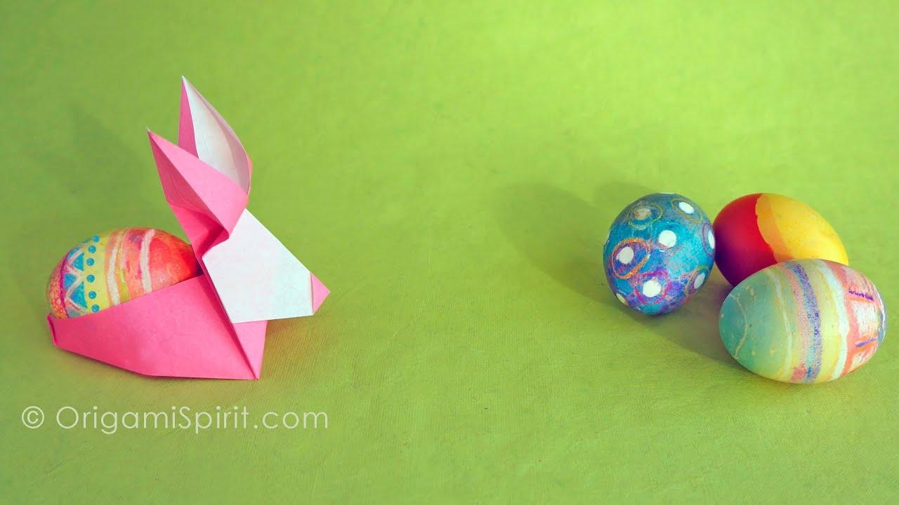 Коробочки для пасхальных яичек из бумаги своими руками